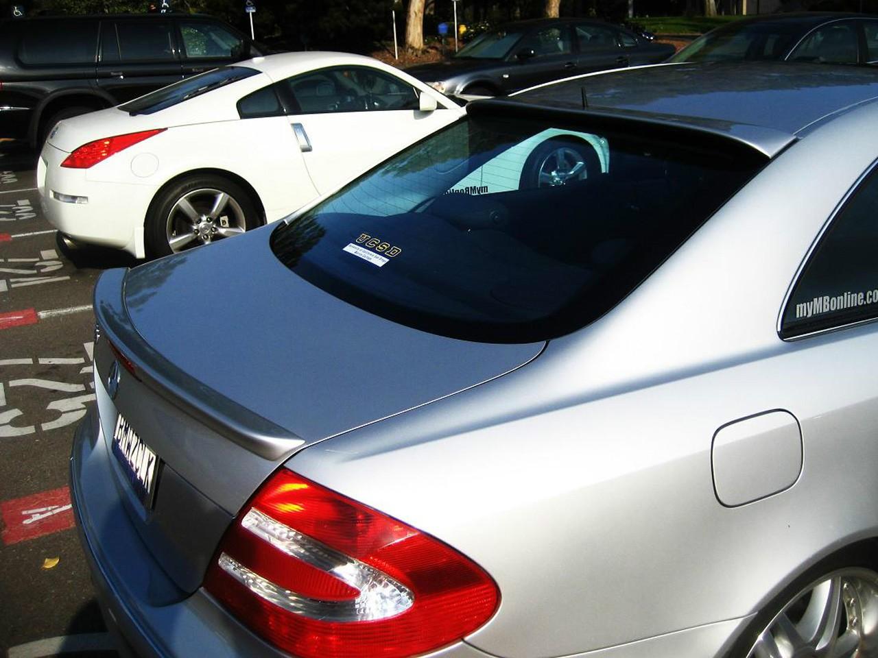 Lotka Lip Spoiler - Mercedes-Benz CLK W209 03-09 - GRUBYGARAGE - Sklep Tuningowy